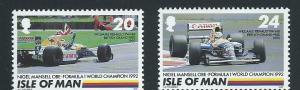 Isle of Man MUH SG 537 - 538