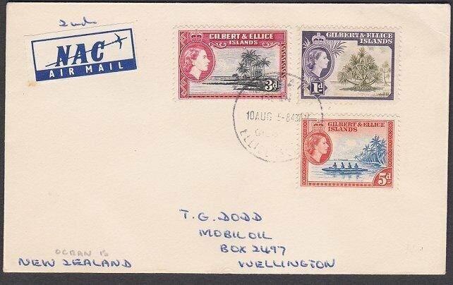 GILBERT & ELLICE IS 1955 cover - Ocean Island cds...........................N664