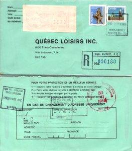 Canada, Registered, Meters