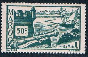French Morocco 159A MLH Ramparts 1939 (F0121)+