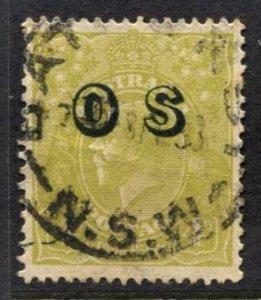STAMP STATION PERTH  Australia #O4 OS Overprint Used -CV$30.00