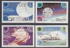 Belize 685-688 MNH CV $4.00