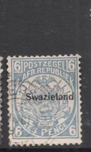Swaziland SG 6 VFU (7dfe)