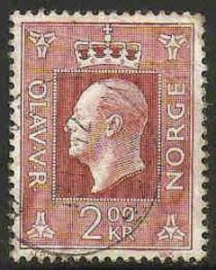 Norway Used Sc 539 - King Olav V