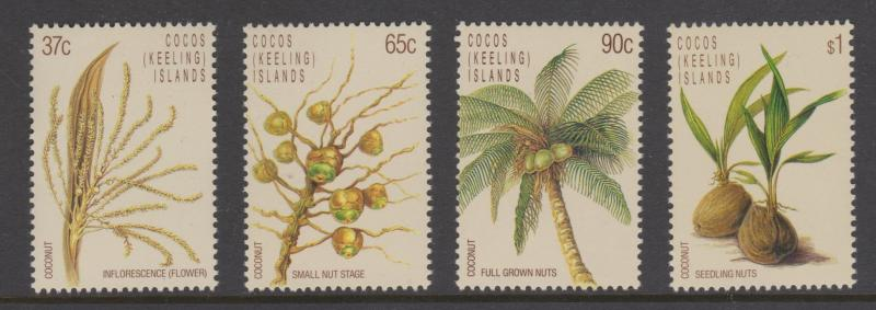 Cocos Keeling Islands Sc#173-176 MNH