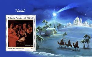 Z08 ST18405b Sao Tome and Principe 2018 Christmas MNH ** Postfrisch
