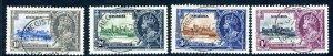 NIGERIA-1935 Silver Jubilee fine used set Sg 30-33