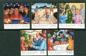 2013  NEW ZEALAND  SG: 3504/08 - CHRISTMAS - GUMMED SET - UNMOUNTED MINT