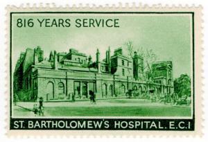 (I.B) Cinderella Collection : St Bartholomew's Hospital (816 Years)