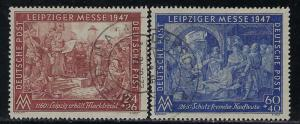 Germany AM Post Scott # B296 - B297, used