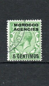 Morocco Agencies 1925 5c on 1/2d GB surcharge FU CDS