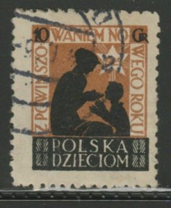 Poland New Year Old Cinderella Poster Stamp Reklamemarken A7P5F842