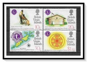 British Virgin Islands #426-429 Lions Club Set MNH