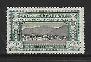 ITALY 166  MINT HINGED MT RESEGONE