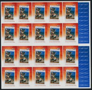 Australia 2764a Booklet MNH Christmas