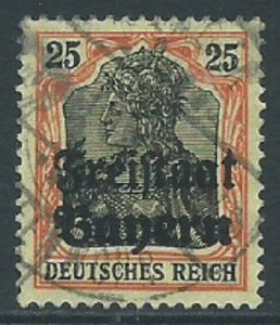 Bavaria, Sc #183, 25pf Used
