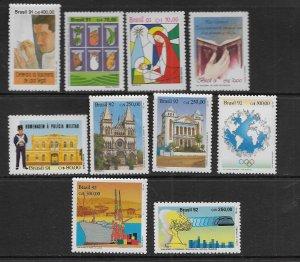 BRAZIL   2339//2362 MNH 1991 & 1992 ISSUES