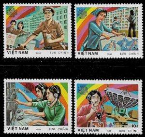 Viet Nam #1331-4 MNH Set - Communications Year