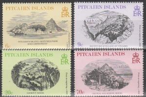 Pitcairn Is #184-7  MNH    (S9537)