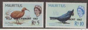 Mauritius Scott #319-320 Stamps - Mint NH Set