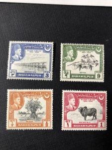 Bahawalpur 22-25 MNH