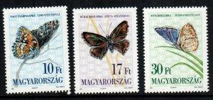 Hungary 3399 - 3401  MNH cat $ 2.25