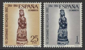 SPAIN SG1676/7 1964 RECONQUEST OF JEREZ MNH