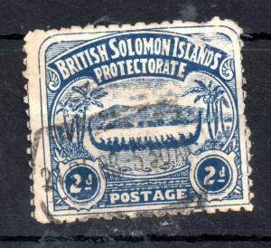 Solomon Islands 1907 2d fine used SG#3 WS13383