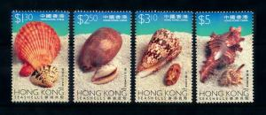 [99614] Hong Kong 1997 Marine Life Sea shells  MNH