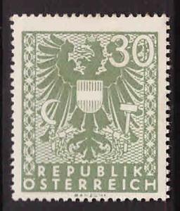 Austria Osterreich Scott 444 MH*