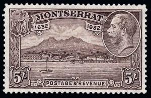 Montserrat Scott 75 Gibbons 84-93 Never Hinged Set of Stamps