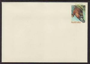 Australia Platypus Unused Postal Envelope
