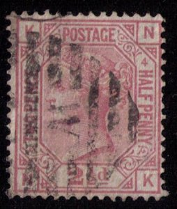 Great Britain Sc #67 (P4) Used (Sg 141) F-VF CV $55.00