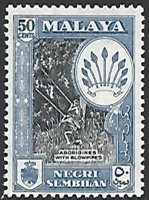 Malaya Negri Sembilan #55 MNH Single Stamp cv $5