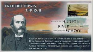 SC 4919, 2014 Hudson School, Frederic Edwin Church, Digital Color Postmark , FDC