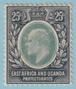 EAST AFRICA AND UGANDA PROTECTORATE 37  MINT HINGED OG - NO FAULTS VERY FINE!