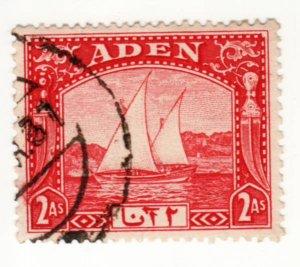 Aden #4  Used, CV $3.00   .....   0020004