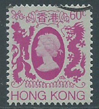 Hong Kong, Sc #393, 60c Used