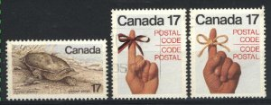 Can #813,815-16   -1  used VF 1979 PD