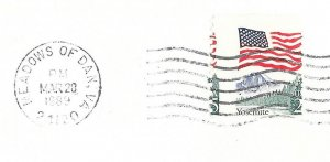US 2280 - 6 Covers - Progressive Perf Shifts - Flag over Yosemite