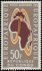 Congo #C16, Complete Set, 1963, Never Hinged