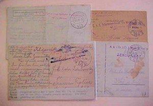 HUNGARY  FP 648,174,413 HAUPT FT 635II 1915-1918
