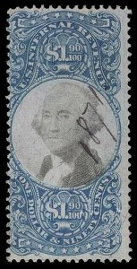 U.S. REV. SECOND ISSUE R122  Used (ID # 95891)