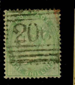 Great Britain #28 Used F-VF Cat$275