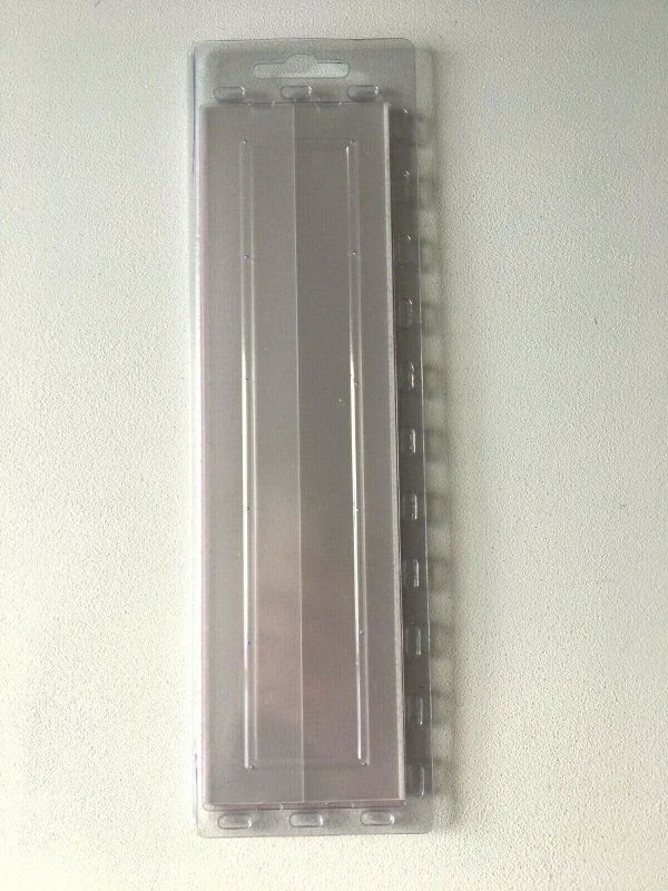 25pcs PRINZ Gard Stamp Strip Mounts Pre Cut Strips (55 x 210mm)