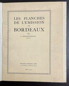 Les Planches de L'Emission de Bordeaux by L. Meinertzhagen    May, 1925