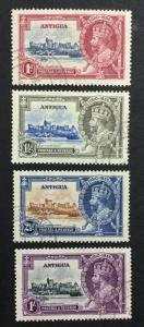 MOMEN: ANTIGUA SG #91-94 USED £25 LOT #1380