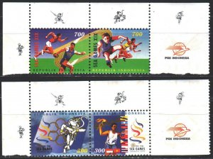 Indonesia. 1997. 1716-19. Sport games. MNH.
