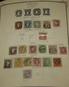 PORTUGAL & COLONIES - mint and used collection 1840-1960 Scott cat $13,000.00+
