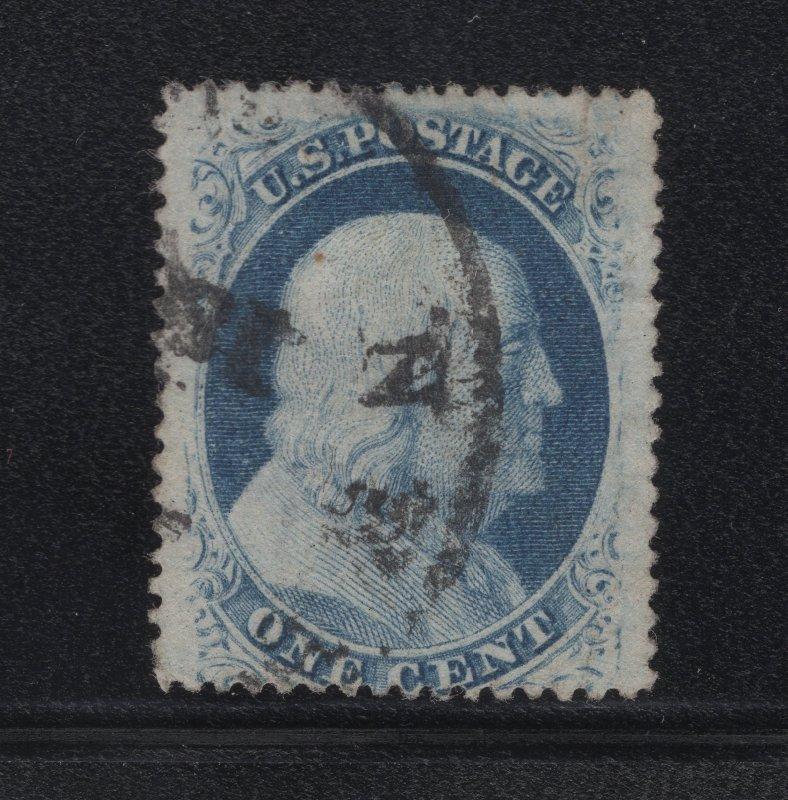 US Stamp Scott #24 Used SCV $37.50